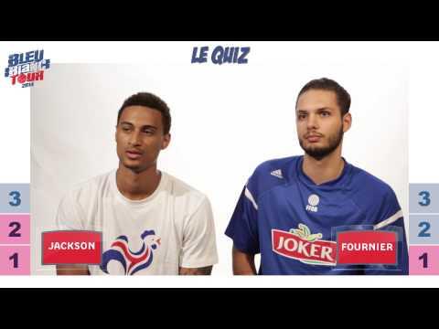 Bleu Blanc Tour - Le Quiz - Edwin Jackson vs. Evan Fournier