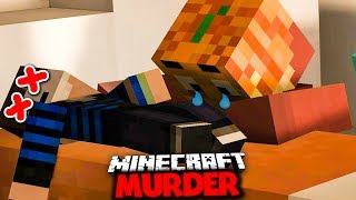 DER TRAURIGE TOD VON GERMANLETSPLAY ✪ Minecraft MURDER