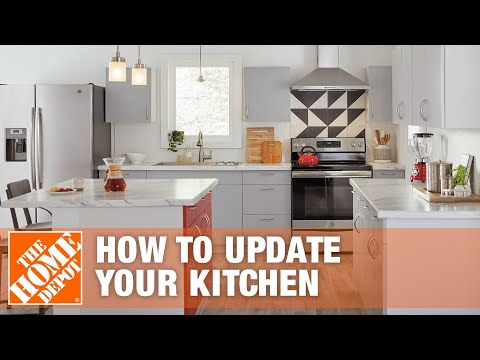 How To Update your Kitchen - The Home Depot