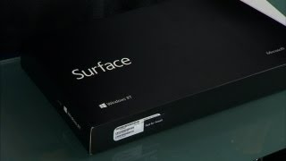 Microsoft Surface Unboxing