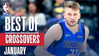 NBA's Best Crossovers   January 2018-19 NBA Season
