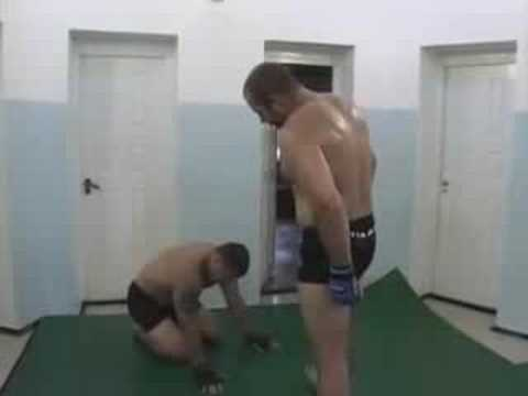 Fedor Emelianenko old school training Image 1