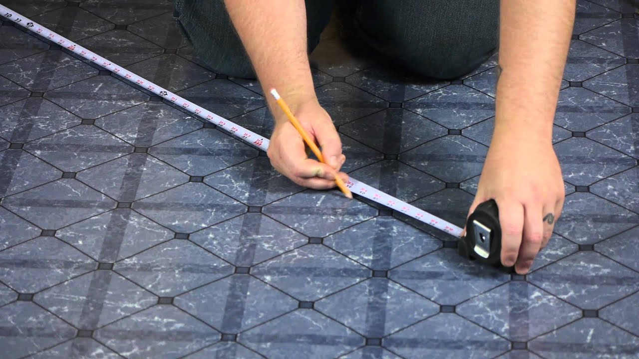 How to put tile on wood floor