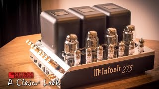 McIntosh 275 Vacuum Tube Amplifier - A Closer Look - Suess Electronics - Appleton WI