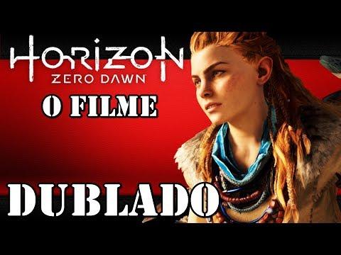 HORIZON. ZERO DAWN. FILME COMPLETO. DUBLADO. PS4 PRO 1080p