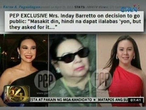 Barretto Brother Joaquin takes Gretchen Side and defend against Mother