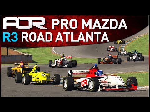 Official Race Coverage from Round 3 of the AOR Pro Mazda Championship on iRacing! Edited by Crekkan and commentated by FakeGhostPirate and Harrison101HD. For...