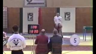 World record LC kettlebells 32 kg 92 reps - Morozov Igor w.c. 90 kg Championship of the World 2004