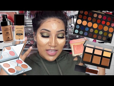 OLIVE YOU GRWM Olive Smokey Eye Makeup Eyeshadow Tutorial & How I Apply Lashes
