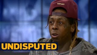 Lil Wayne's opinion on Kevin Durant and Dwyane Wade changing teams   UNDISPUTED