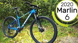 The Beginner MTB King! 2020 Trek Marlin 6 Feature Review and Actual Weight.