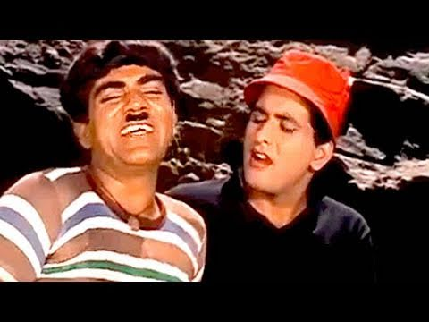 Manoj Kumar With Mehmood - Gumnaam Scene video