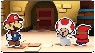 Paper Mario Color Splash Walkthrough Part 1 (4/7) Crazy Shy Guys