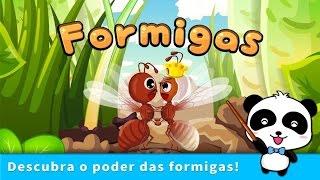 Vida de Formiga - Vídeo Educativo Infantil - app Jogo para Crianças