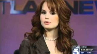 Debby Ryan (The Suite Life On Deck) (KTLA Morning Show - March 25th 2011)