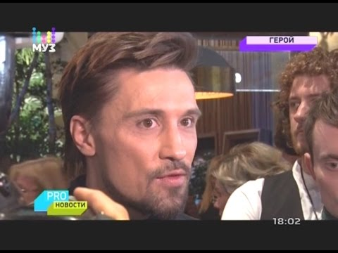 Дима Билан на премьере фильма «Герой»