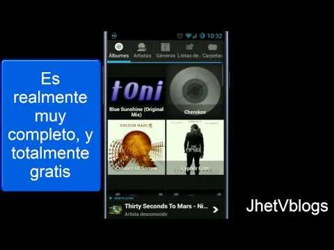 Reproductor de Musica Gratis y Recomendado / Player Pro (Android)