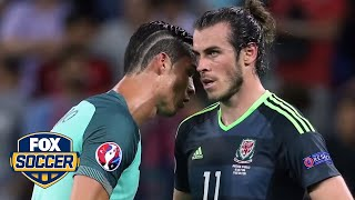 What did Ronaldo say to Bale after Euro match?