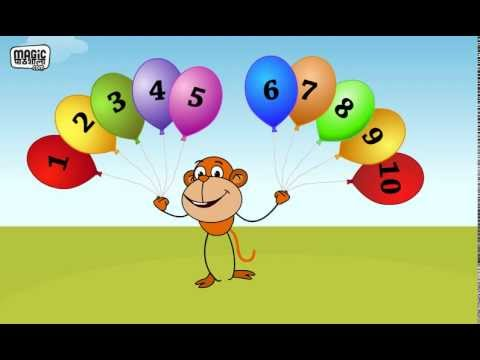 Counting Numbers 1 - 10 in Hindi