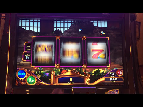 Willy Wonka Slot Machine Bonus - Wonka Free Spins - Big Win!!!