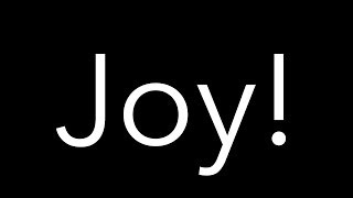 Prayer and Joy! width=