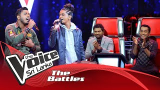 The Battles : Naveen Dushantha V Sohan Francesco | Duka Wedi Nethe | The Voice Sri Lanka