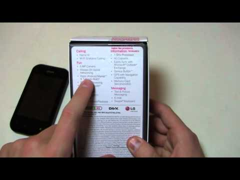 T-Mobile myTouch Q Unboxing