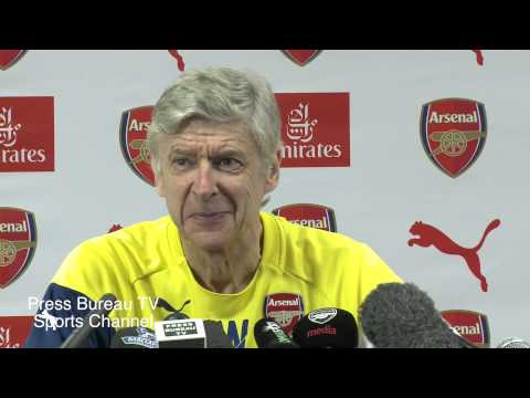 Arsene Wenger pre Arsenal vs West Ham