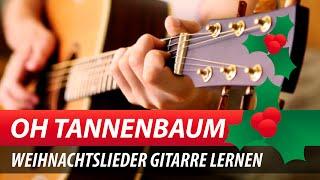 Weihnachtslieder Gitarre Lernen ♫★ Oh Tannenbaum Georg Norberg & David Marius JamBam