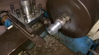 Lathe machine operation FacingTurning Grooving and