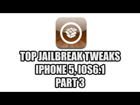 Top iPhone 5 Jailbreak Tweaks, Part 3 for iOS 6.1 - with bonus