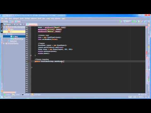 JavaFX Java GUI Tutorial - 16 - TreeView