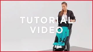 gb Pockit lightweight stroller tutorial