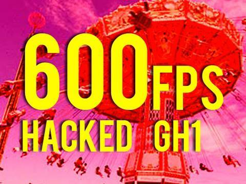 250fps to 600fps - Super Slow Motion - Carnival - Life in a Day - Hacked GH1 720P SH 58mb
