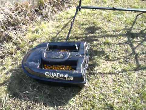 Bateau amorceur quad