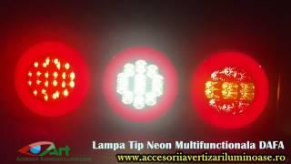 Lampa stop multifunctionala cu 6 functii gabarit LED -Neon DAFA