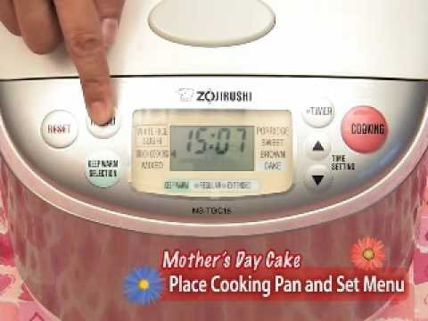 Zojirushi Mother's Day Cake