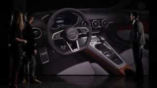Inside look of Audi TT Virtual Cockpit
