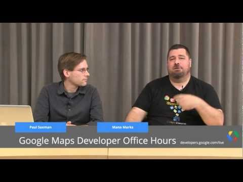 Google Maps Developers Office Hours