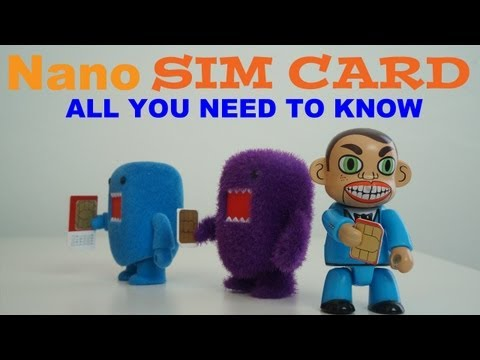 Sim Card: Micro Sim, Nano Sim | How To Save Money And Do It Yourself