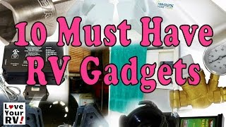 My 10 Must Have RV Gadgets
