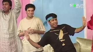 Zafri Khan, Sajan Abbas and Naseem Vicky New Pakistani Stage Drama Full Comedy Clip