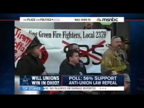 ATU President Larry Hanley on MSNBC live from Ohio