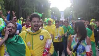 BRAZIL FOOTBAL FANS CARNIVAL