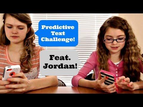 Predictive Text Challenge!