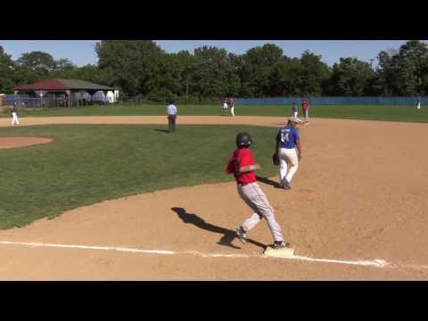 HV Bulldogs vs Bronx Bombers 13U Baseball Perfect Game Tournament June 2017