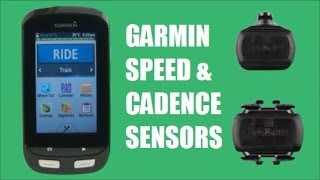 New Garmin Speed & Cadence Sensors - Overview & Installation