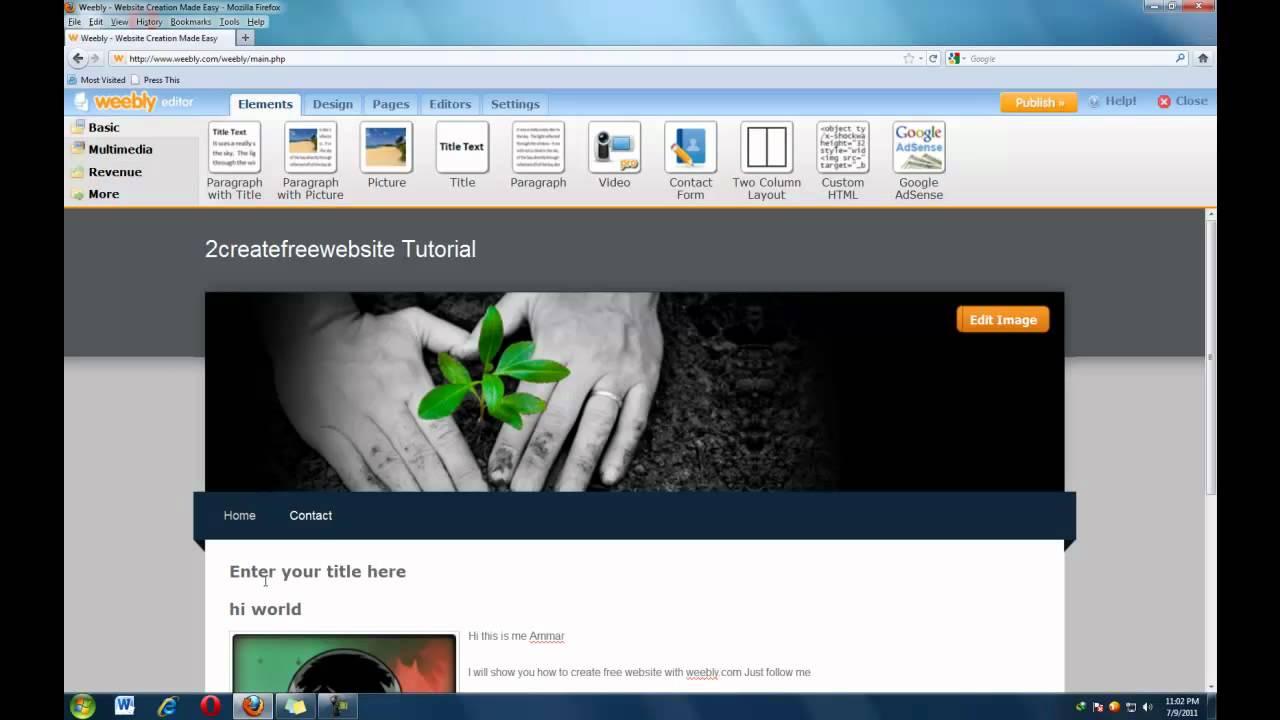 create a professional website free - Roberto.mattni.co