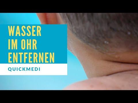 WASSER im OHR ENTFERNEN – Tipps um Wasser aus dem Ohr zu bekommen   QuickMedi