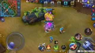 My [Mobile Legends] livestream with DU Recorder